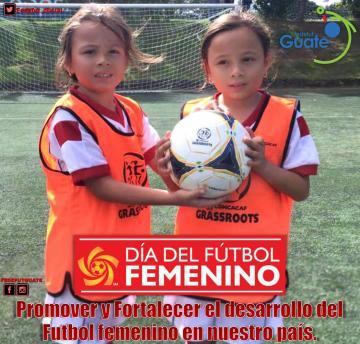 GUATEMALA SE UNE A LA CELEBRACION  DEL DIA INTERNACIONAL DEL FUTBOL FEMENINO DE CONCACAF