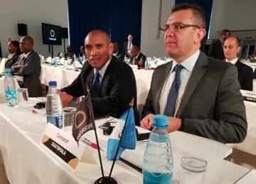 MIEMBROS DEL COMITÉ DE REGULARIZACION DE FIFA PRESENTES EN EL 33º CONGRESO ORDINARIO DE CONCACAF, CELEBRADO EN MOSCU, RUSIA