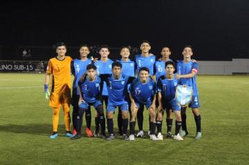 EMPATE BELICE vs. GUATEMALA / TORNEO SUB 15 UNCAF FIFA FORWARD