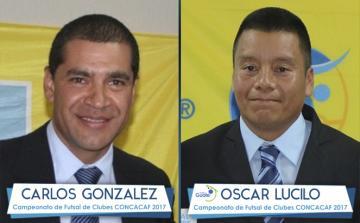 Futsal / Árbitros Carlos González y Oscar Lucilo con nombramiento para campeonato de CONCACAF