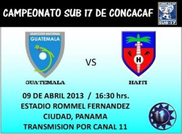 GUATEMALA VS. HAITI - TRANSMISION POR CANAL 11 ALBAVISION