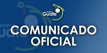 COMUNICADO OFICIAL FEDEFUT