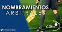 LIGA NACIONAL / NOMBRAMIENTOS ARBITRALES PRIMERA JORNADA TORNEO APERTURA