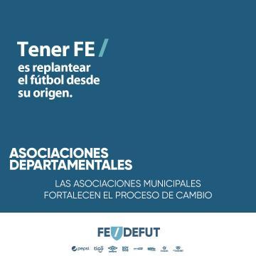 Tener FE / es replantear el fútbol  desde su origen