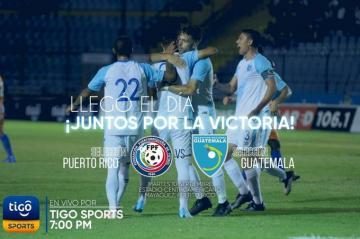 ¡LLEGÓ EL DÍA. JUNTOS POR LA VICTORIA! PUERTO RICO vs GUATEMALA