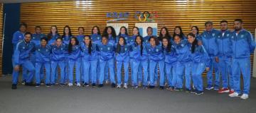 Selección Mayor Femenina fue juramentada previo a participar en el torneo clasificatorio de Uncaf.