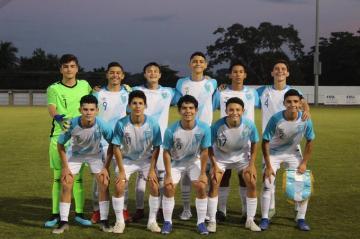 GUATEMALA VENCE A EL SALVADOR EN SU DEBUT EN EL TORNEO UNCAF FIFA FORWARD