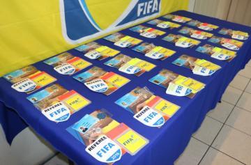 FEDEFUT REALIZARA ENTREGA DE GAFETES FIFA 2019
