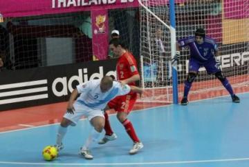 GUATEMALA CAE ANTE RUSIA / MUNDIAL DE FUTSAL DE LA FIFA TAILANDIA 2012