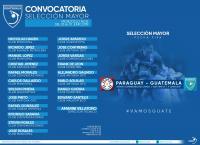 CONVOCATORIA SELECCIÓN MAYOR / ENCUENTRO INTERNACIONAL ANTE PARAGUAY / FECHA FIFA