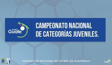 CAMPEONATO NACIONAL DE CATEGORÍAS JUVENILES / TABLA DE POSICIONES SEGUNDA JORNADA