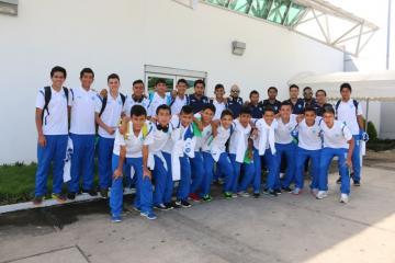 SELECCIÓN SUB 16 DE GUATEMALA VIAJO A NICARAGUA PARA COMPETIR EN EL VI TORNEO DE UNCAF